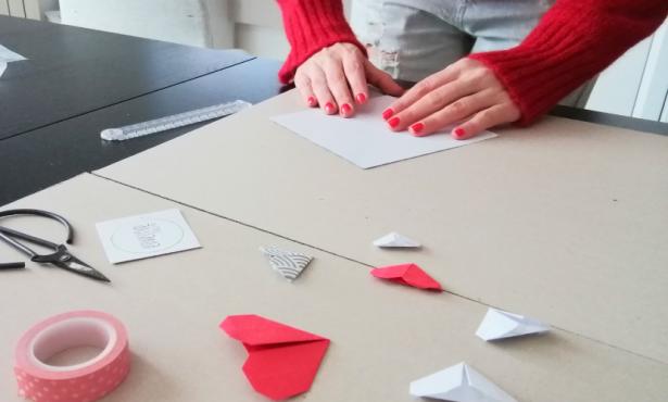 Come fare un cuore origami. Video tutorial